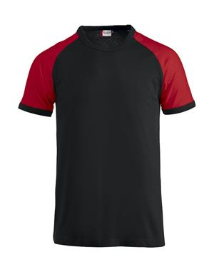 NewWave T-shirt Reglan-T (S - NERO - ROSSO)