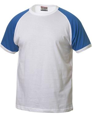 NewWave T-shirt Reglan-T (M - BIANCO - ROYAL)