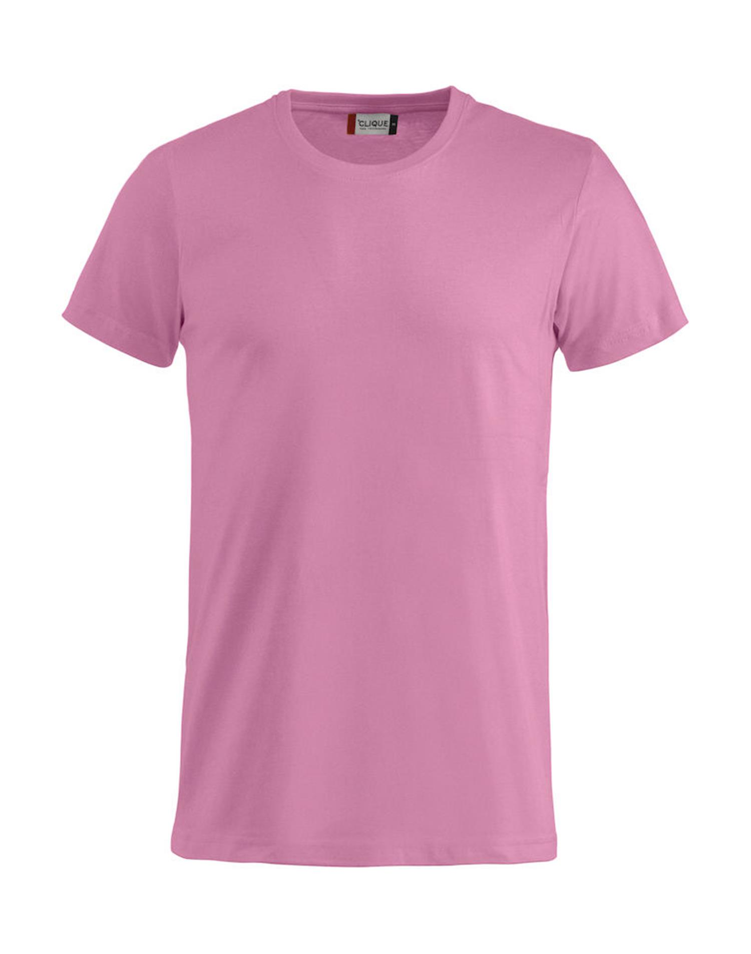 NewWave T-shirt Basic-T Clique (2XL - ROSA ACCESO)